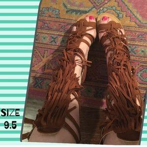 Quipid Fringe Sandals